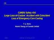 CANDU Safety #16: Large Loss-of-Coolant Accident with ... - Canteach