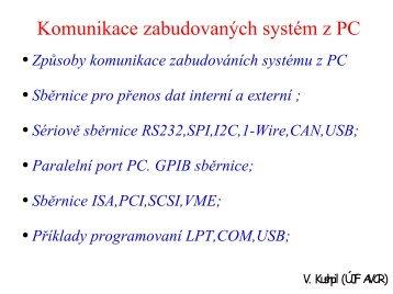 Paralelní port PC