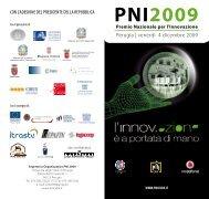 Il programma dell'evento - PNI Cube