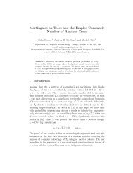 Martingales on Trees and the Empire Chromatic Number of Random ...