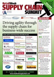 The Retail supply Chain summit - Unipart Logistics
