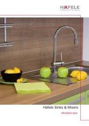 Häfele Sinks & Mixers - Paradise Kitchens