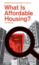 What Is Affordable Housing? - Center for Urban Pedagogy