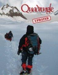 Woodstock School Alumni Magazine Vol CIV, 2011