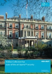 to download The Wallace Collection case study - Assa Abloy