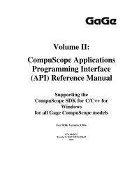 CompuScope SDK Manua.. - Egmont Instruments