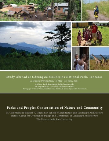 2011 Tanzania Study Abroad program - Stuckeman School