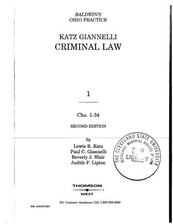 criminal law procedure and evidence signorelli pdf