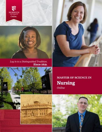 to download the brochure - Norwich University's Online Master of ...