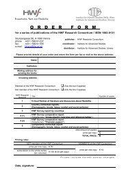 Order Form - HWF