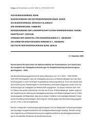 Gemeinsames Rundschreiben der ... - Knappschaft-Bahn-See
