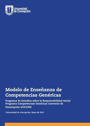Modelo de Enseñanza de Competencias Genéricas