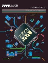 WFN476_Text 12pp single AW:Layout 2 - Wolfson Microelectronics plc
