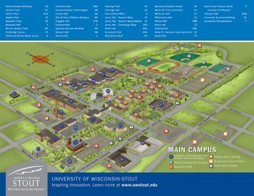 Campus Map - University of Wisconsin-Stout