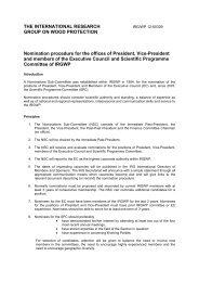 Nomination procedure for the offices of President, Vice-President ...