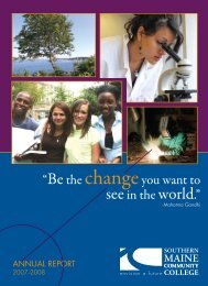 Change - Southern Maine Community College