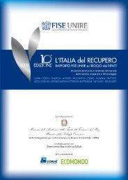 L'Italia del Recupero 2009_FISE UNIRE 10 Ed.pdf - Produzione ...