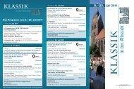 8.–23. Juli 2011 - AJ Classic & Eventpromotion