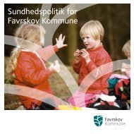 Sundhedspolitik for Favrskov Kommune