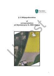 12 Miljøgodkendelse af svineproduktion på Skjesbjergvej 34, 8860 ...