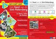 SPB2007 flyer A4 NED - Stichting Oud Sint Pieter