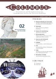 Ausgabe 24 - Geographisches Institut Uni Heidelberg