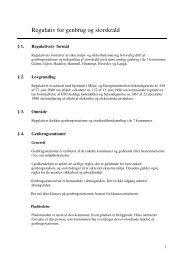 Regulativ for genbrug og storskrald - Favrskov Kommune