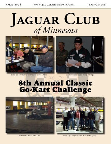 Spring Quarter Newsletter - April, 2008 - Jaguar Club of MN