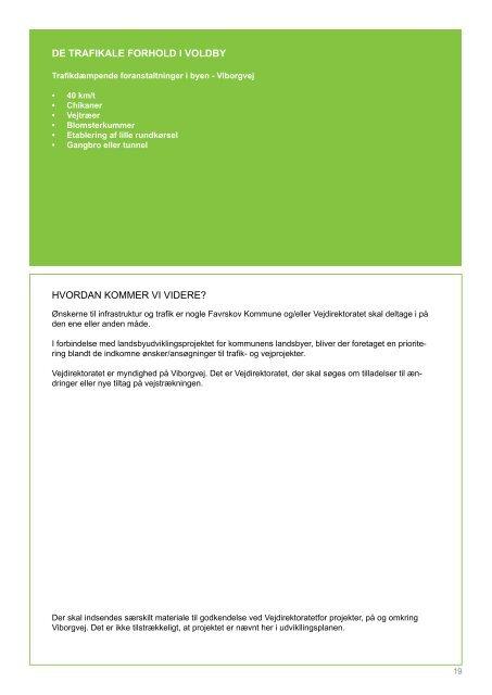 Klik og download udviklingsplan for Voldby - Favrskov Kommune
