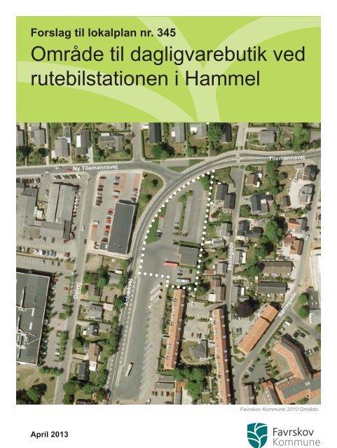 Forslag til lokalplan nr. 345.indd - Favrskov Kommune