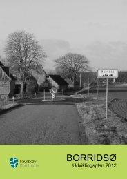 Se udviklingsplan for Borridsø her - Favrskov Kommune