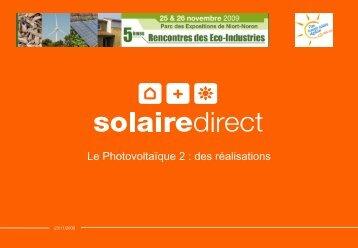 Diapositive 1 - Salon de la Croissance Verte et des Éco-Industries