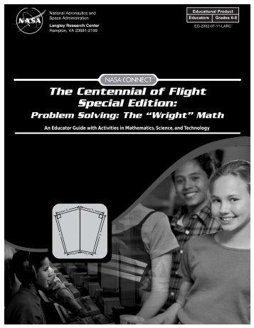 "Problem Solving: The ""Wright"" Math pdf - ER - NASA"