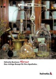 Helvetia Business Pharma Das richtige Rezept für Ihre Apotheke.