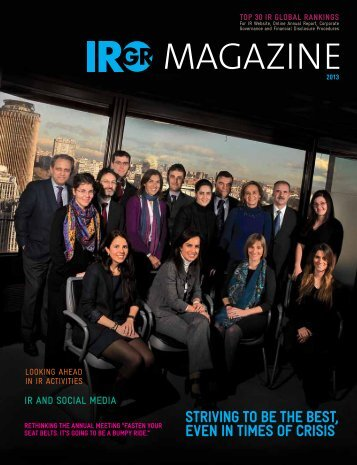 IRGR Magazine - IR Global Rankings