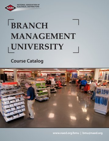 branch management university - National Association of Electrical ...