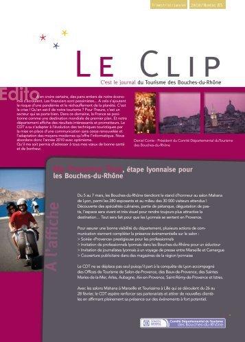 Clip Janvier 2010.pdf - Accueil - Bouches du Rhône