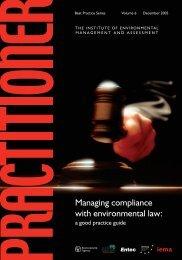 Practitioner Vol 6 Legal Compliance.pdf - IEMA