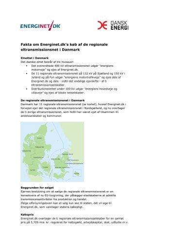 Fakta om Energinet.dk's køb af de regionale eltransmissionsnet i ...