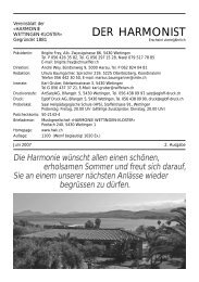 2007 - 2 - Harmonie Wettingen-Kloster
