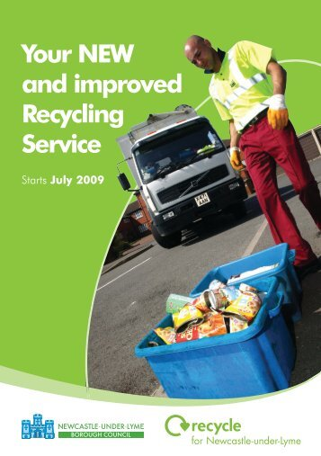Your NEW and improved Recycling Service - Newcastle-under ...