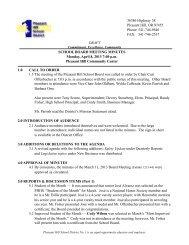 April 8 2013 Mtg Minutes - Pleasant Hill School District #1