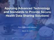 Slide Deck - Center for Integrated Healthcare Delivery Systems