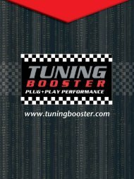 2.0l TFSI - VAG GROUP engines (AUDI, VW, SEAT ... - SprintBooster
