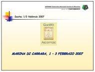 MARINA DI CARRARA, 1 – 3 FEBBRAIO 2007 - Seatec