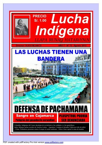Lucha Indígena No. 72 PDF