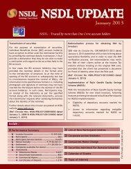 January 2013 - NSDL