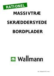 MASSIVTRÆ SKRÆDDERSYEDE BORDPLADER