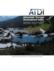 ATDI report 10:Layout 1 - Adventure Travel Trade Association