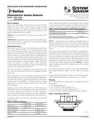 System Sensor i3 Smoke Detector - Wiley Systems